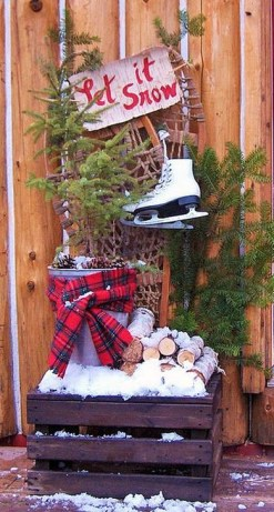 Cozy Rustic Winter Decoration For Your Home 17