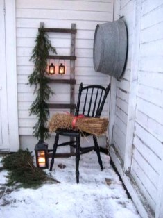 Cozy Rustic Winter Decoration For Your Home 29