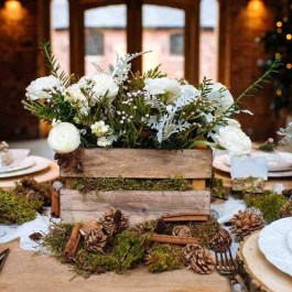 Cozy Rustic Winter Decoration For Your Home 39