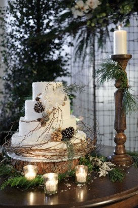 Cozy Rustic Winter Decoration For Your Home 45