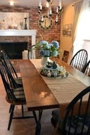 Easy Rustic Farmhouse Dining Room Makeover Ideas 04