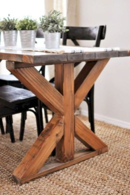 Easy Rustic Farmhouse Dining Room Makeover Ideas 20