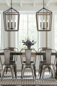 Easy Rustic Farmhouse Dining Room Makeover Ideas 25
