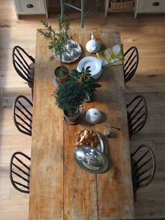Easy Rustic Farmhouse Dining Room Makeover Ideas 30