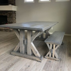 Easy Rustic Farmhouse Dining Room Makeover Ideas 42