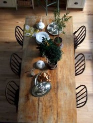 Easy Rustic Farmhouse Dining Room Makeover Ideas 50