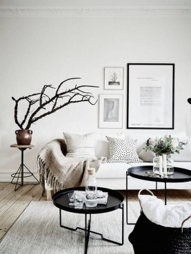 Elegant Scandinavian Living Room Design Ideas 17