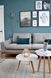 Elegant Scandinavian Living Room Design Ideas 43