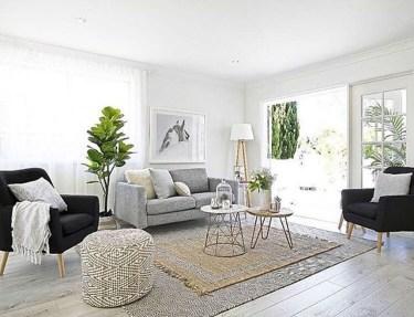 Elegant Scandinavian Living Room Design Ideas 54