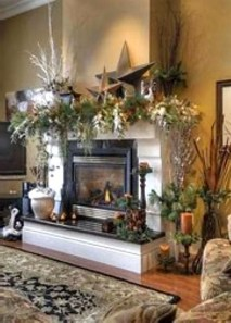 Favorite Mantel Decoration Ideas For Winter 21
