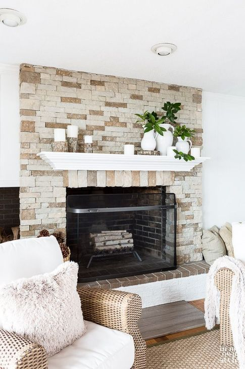 Favorite Mantel Decoration Ideas For Winter 27