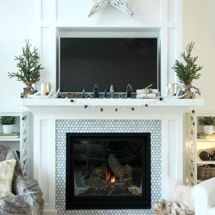 Favorite Mantel Decoration Ideas For Winter 28