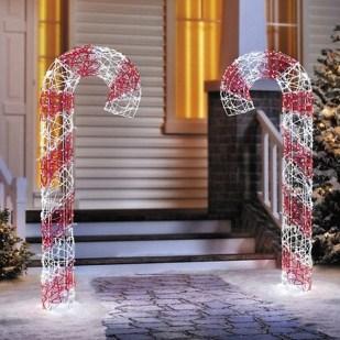 Fun Candy Cane Christmas Decoration Ideas 01