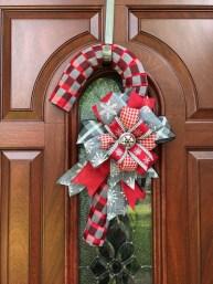Fun Candy Cane Christmas Decoration Ideas 35