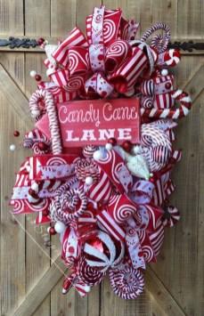 Fun Candy Cane Christmas Decoration Ideas 39