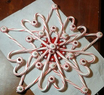 Fun Candy Cane Christmas Decoration Ideas 42