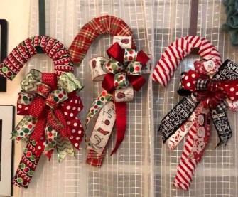 Fun Candy Cane Christmas Decoration Ideas 45