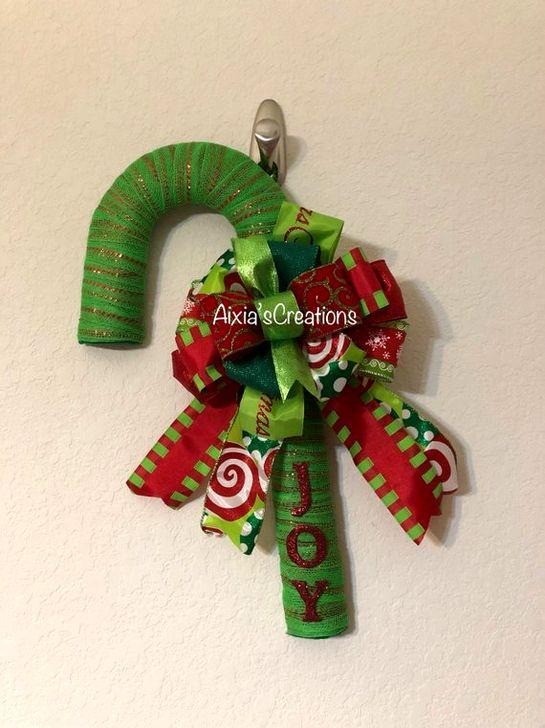 Fun Candy Cane Christmas Decoration Ideas 53