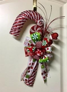 Fun Candy Cane Christmas Decoration Ideas 57