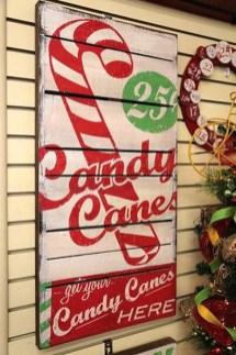 Fun Candy Cane Christmas Decoration Ideas 60