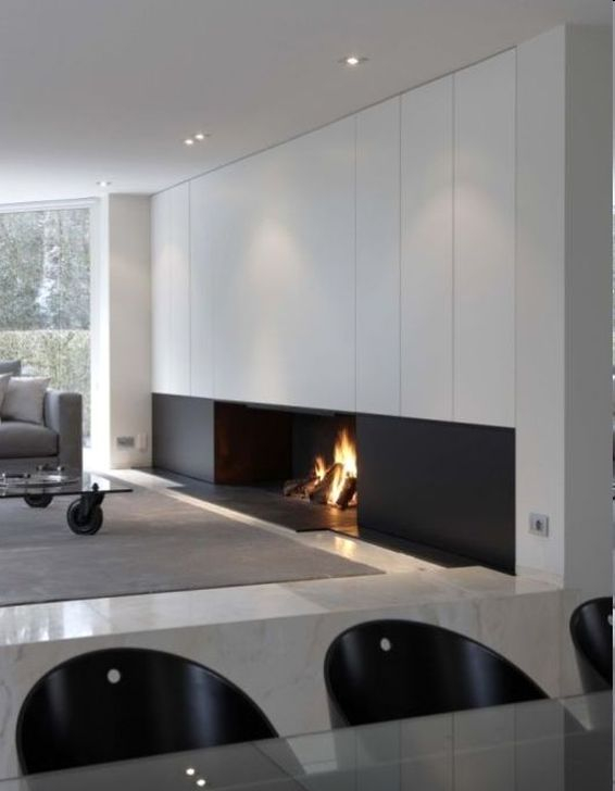 Gorgeous Fireplace Design Ideas For This Winter 09