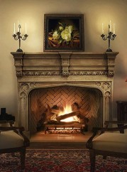 Gorgeous Fireplace Design Ideas For This Winter 12