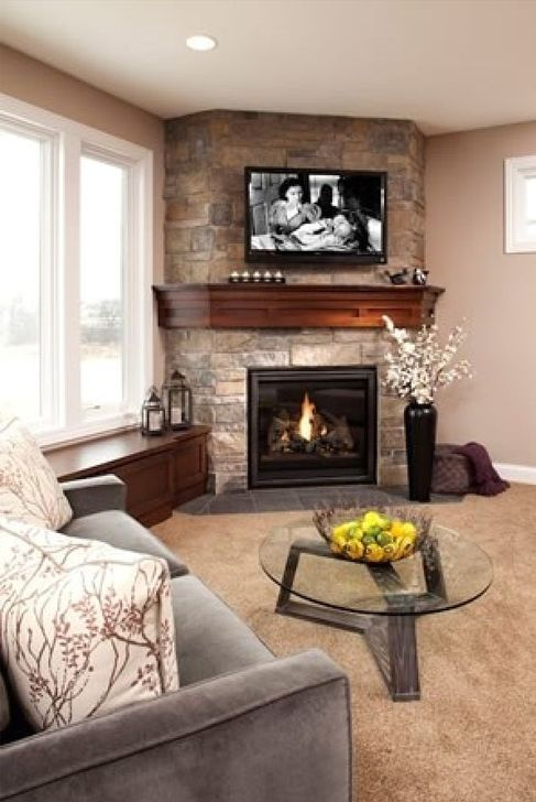 Gorgeous Fireplace Design Ideas For This Winter 59