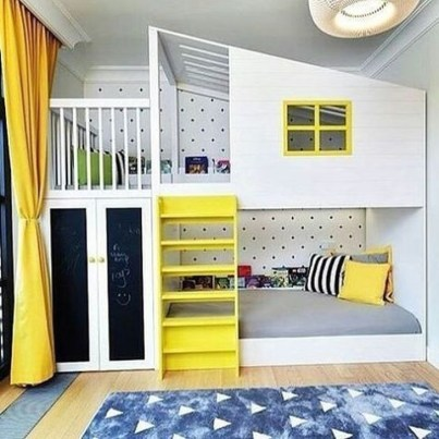Inspiring Children Bedroom Design Ideas 36