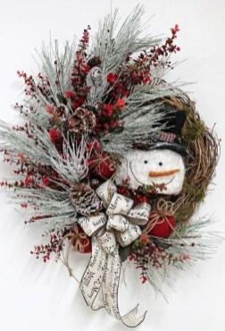 Interesting Snowman Winter Decoration Ideas 17