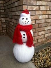 Interesting Snowman Winter Decoration Ideas 22