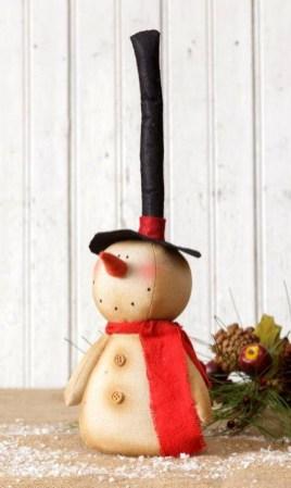 Interesting Snowman Winter Decoration Ideas 23