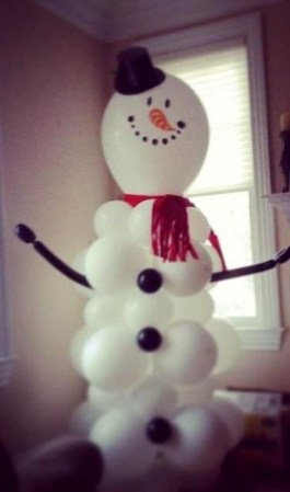 Interesting Snowman Winter Decoration Ideas 24