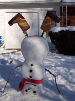 Interesting Snowman Winter Decoration Ideas 34