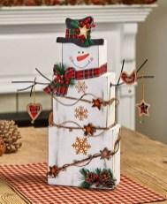 Interesting Snowman Winter Decoration Ideas 38