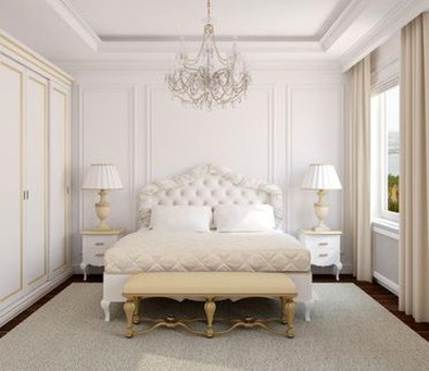 Minimalist But Beautiful White Bedroom Design Ideas 18