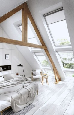 Minimalist But Beautiful White Bedroom Design Ideas 52