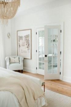 Minimalist But Beautiful White Bedroom Design Ideas 60