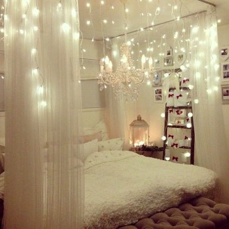 Modern And Romantic Bedroom Lighting Decor Ideas 47