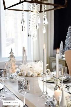 Most Popular Christmas Table Decoration Ideas 31
