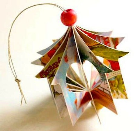 Stunning And Unique Recycled Christmas Tree Decoration Ideas 38