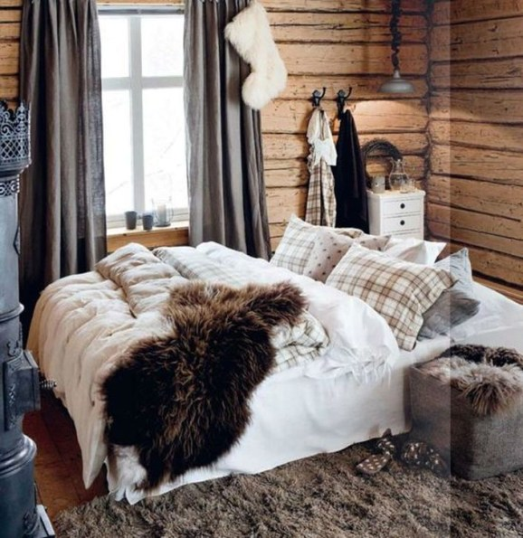 Adorable Bedroom Decoration Ideas For Winter 11