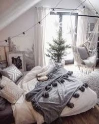 Adorable Bedroom Decoration Ideas For Winter 22