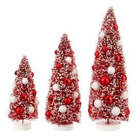 Awesome Red And White Christmas Tree Decoration Ideas 18