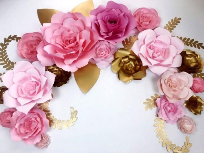 Beautiful Flower Christmas Decoration Ideas 09