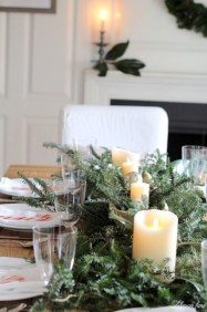 Beautiful Flower Christmas Decoration Ideas 19