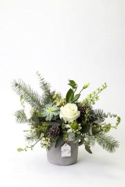 Beautiful Flower Christmas Decoration Ideas 20