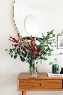 Beautiful Flower Christmas Decoration Ideas 46