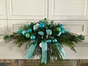 Brilliant DIY Christmas Wearth Decoration Ideas 41