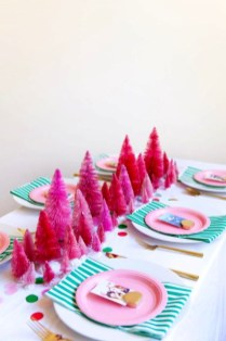 Cute Pink Christmas Tree Decoration Ideas You Will Totally Love 10