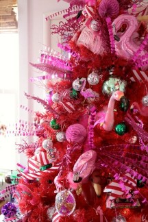Cute Pink Christmas Tree Decoration Ideas You Will Totally Love 39